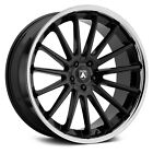 Asanti ABL 24 BETA Wheels 20x9 35 5x112 726 Black Rims Set of 4