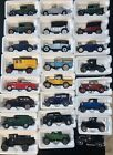 Die Cast Collectible Classic Cars From National Motor Museum Mint NEW Lot OF 24