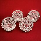 Waterford Crystal Set of 4 Votive Tea Light Candle Holders Made in Ireland