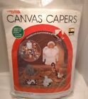 Leisure Arts Canvas Capers Plastic Christmas Nativity Completer Set NEW