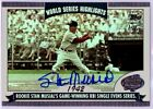 STAN MUSIAL 2004 Topps World Series Highlights On Card Auto Autograph HOF SP