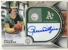 2021 Topps Tribute Rollie Fingers Auto 25 Green Monster Wall Graphs Autograph