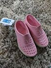 Princess Pink Bone White Native Miller Shoes Size C13 Brand New