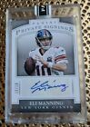 2016 Panini Super Bowl 50 Private Signings Football Cards 12