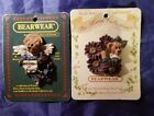 Retired Boyds Bears Bearwear BELIEVE IN ANGELS Pin The Floral Collection Pin