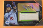 2011 Topps Triple Threads Justin Turner Jersey Autograph 87 99