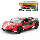McLaren 600LT No01 1 32 Model Car Alloy Diecast Toy Vehicle Collection Gift Kid
