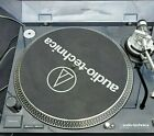 Audio Technica AT LP120 USB BLACKDirect Drive Professional Turntable