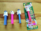 Lot of 4 Pez Candy Dispensers - Charlie Brown and Snoopy, R2D2, Santa Claus