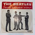 The Beatles SHE LOVES YOU ILL GET YOU Original Swan PICTURE SLEEVE ONLY VG+