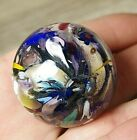 End of Day Glass Marble Appx 1 3 8 Unsigned