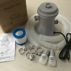 Electric Swimming Pool Filter Pump For Above Ground Pools Cleaning Tool Kit