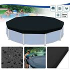 Leaf Swimming Net Pool Cover Round Ground Protective Strong Rainproof Folding