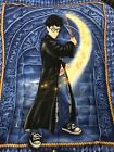 VINTAGE Harry Potter Panel 46x35 Cotton Quilt Fabric Wand Harry 2001 Springs Ind