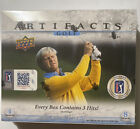 2020-21 Upper Deck Ud Artifacts Golf Sealed Hobby Box : Auto, PGA Relics, Rookie