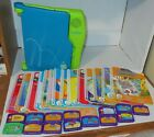 Leap Frog LeapPad Learning System Model 57 000 01 With 14 Books  15 Cartridges