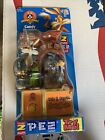 BRAND NEW Looney Tunes PEZ Candy Holder Wile E.Coyote/Road Runner Works