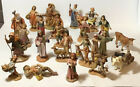 Lot of Fontanini Nativity Pieces 5 Scale Various Dates Over 20 pieces