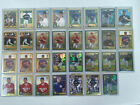 2001 Topps Chrome Traded and Rookies 31 Card Lot Serial Numbered Gold Refractor