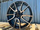 19X85 19X95 5X112 machined face WHEELS Fits MERCEDES BENZ STAGGERED SET OF 4