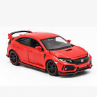 Honda Civic Type R Hot Hatch 1 32 Model Car Diecast Toy Vehicle Kids Gift Red