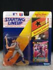 Howard Johnson 1992 Kenner Starting Lineup With Poster NY Mets