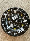 PEANUTS SNOOPY WOODSTOCK 8 Floral Salad Luncheon Dessert Plates Set Of 4 New
