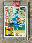 STEVE CARLTON #75 92 2019 TOPPS ARCHIVES SIG SERIES PHILLIES AUTO 1983 TOPPS