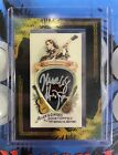 Marcus Henderson 2008 Topps Allen & Ginter Relics Autograph 100 A&G Signed Pic