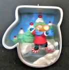 Hallmark 2016 Mitten Cookie Cutter Christmas Ice Skating Mouse Ornament NIB