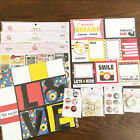 Queen  Co MAGIC Lot of Scrapbook Paper and Embellishments Stickers Unused