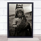 The Little Prince Child Kid Serious Documentary Person Tibet Wall Art Print