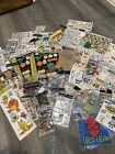 Lot Of Of Over 30 Scrapbook Baby Boy Stickers Die Cuts  Embellishments