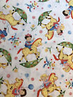 ROCKING HORSE Childrens Cowgirls boys VIVID COLORS Michael Miller Cotton Fabric