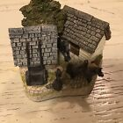 David Winter Cottages The Shires Collection Lancashire Donkey Shed Figurine 1992