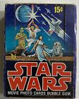 Vintage Topps Star Wars Trading Card Movie Cards Boxes 1-5 Set 1977 Rare