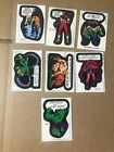 1974 1975 Topps Marvel Comic Book Heroes Stickers Finish Your Set Lot