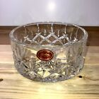 GORHAM FINE CRYSTAL Wine Bottle Coaster Candy Dish Bowl from CZECH REPUBLIC