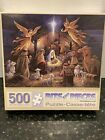 Bits and Pieces In the Manger 500 Piece Jigsaw Puzzle Christmas Nativity