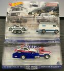 Hot Wheels Ford RS 200  Rally Van and 74 Chevy Vega Pro Stock Team Transport