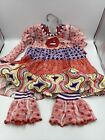Baxter  Beatrice Boutique Clothing Girls Top  Pants Set 4T New Msrp 69