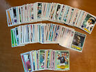Lot of Topps football cards 1980 82 83 Commons Pack Fresh Opened Approx 200!