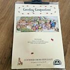 DMC Counted Cross Stitch Kit Country Companions All Arrived for Tea NEW K3789