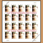 4735a Wedding Cake Imperf Pane of 20 from Press Sheet No Die Cuts