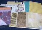 Huge Lot Of 12x12 Scrapbooking Paper Sheets Over 7 Pounds