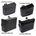 Left Right Side Black Battery Cover Fit for Harley Dyna Fat Bob Street Bob 06 17