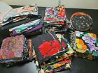 Over 6 Pounds Quilt Fabric Remnants Strips Squares Scraps Quilting Vintage OOP