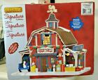 2013 LEMAX SIGNATURE LIGHTED CHRISTMAS DECORATED VILLAGE COUNTRY BARN GIFT SHOP
