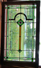 ANTIQUE STAINED GLASS WINDOW ca 1920s