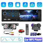 41 Single DIN Touch Screen Car Stereo Radio FM USB AUX Bluetooth+Backup Camera